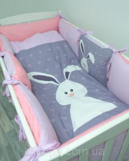 Комплект детского постельного белья 120х60 см «Зая»