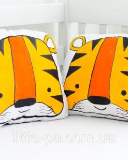 Детская мягкая маленькая подушка «Тигр»