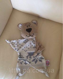 Комфортер-мишка текстильный для ребенка