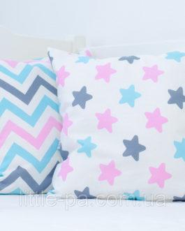 Декоративная детская подушка хлопковая «Зефирка»