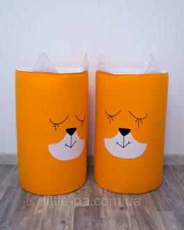 Вместительная корзина для игрушек «Лисёнок»