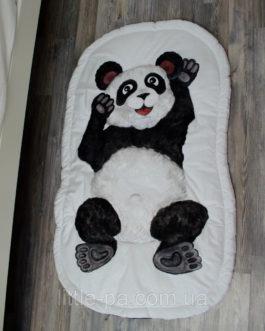 Коврик детский хлопковый для детской «Панда»