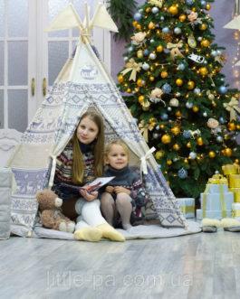 Комплект с вигвамом детский игровой «Скандинавия»
