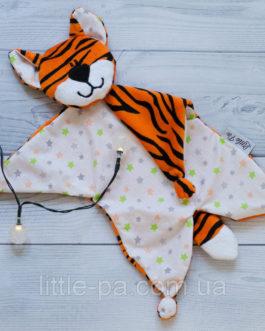 Игрушка-комфортер для самых маленьких  «Тигрёнок»