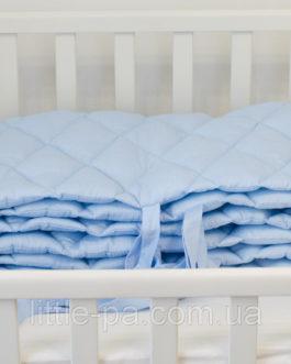 Защита в детскую кроватку «Лазурь»