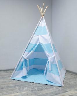 Вигвам для ребенка «Море» с матрасом