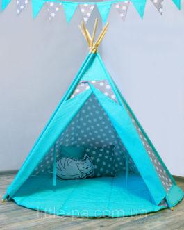 Комплект с вигвамом детский игровой «Звёзды с мятой»
