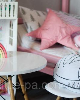 Подушка из хлопка для кроватки новорожденного «Кошечка»
