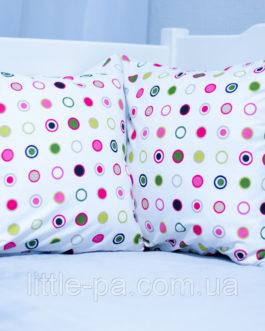 """Маленькая подушка для детской люльки """"Конфетти"""""""