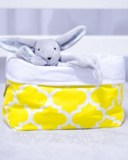 Компактная коробочка для детских аксессуаров «Солнечный зайчик»
