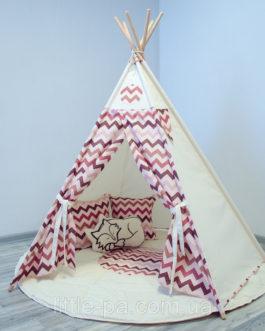 Комплект с вигвамом для ребенка «Сафари»