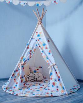 Комплект детский с вигвамом «Волшебный сад»