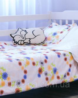 Детское постельное хлопковое «Волшебный сад» (190х90)