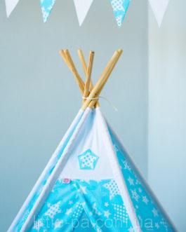 Комплект детский с вигвамом «Звездопад»