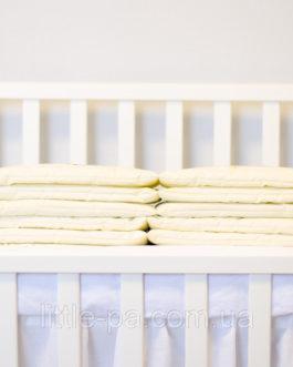 Бортики для детской кроватки «Розочки»