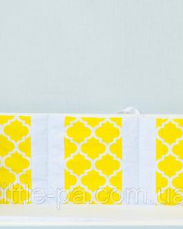 Бамперы для детской кроватки их хлопка «Солнечный зайчик»