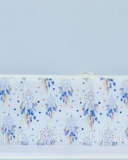 Бортики из натуральной ткани для кроватки «Ловцы снов»