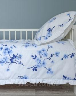 Хлопковое постельное белье Baba Eva «Сакура» (190х90)