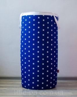 Гигантская корзина из хлопка для игрушек  «Звёзды»