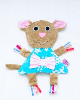 Игрушка-грызун детская хлопковая  «Мышка»