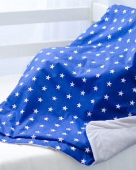 Плед с плюшем для ребенка «Звёзды»