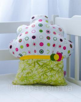 Детская подушка из хлопка «Маффин ягодный»
