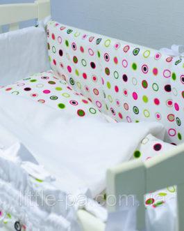 Комплект детского постельного белья 120х60 см «Конфетти»