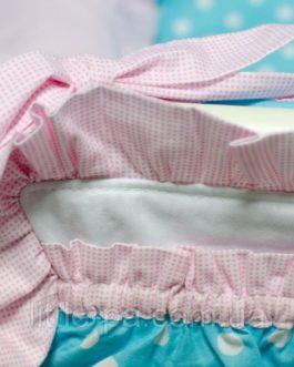 Комплект детского постельного белья 120х60 см «Горошки»