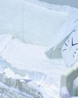 """Комплект детского постельного белья 120х60 см  """"Воздушный замок"""""""