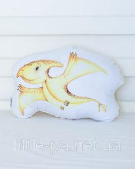 Детская мягкая подушка «Дино Птеродактиль»